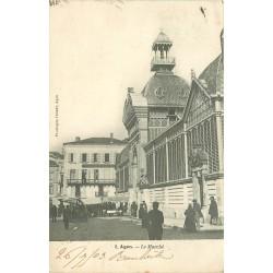 47 AGEN. Le Marché 1903