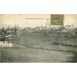71 COLOMBIER-EN-BRIONNAIS. Vue du Village 1917