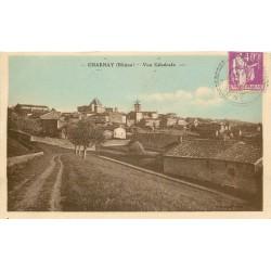 69 CHARNAY. Vue sur le Village vers 1934