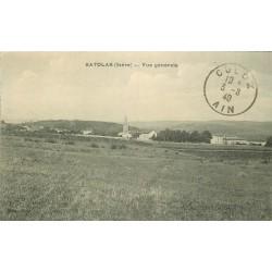 38 SATOLAS et BONCE. Vue sur le Village 1940
