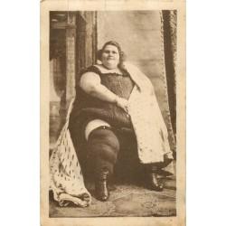 SPECTACLE - TERESINA la plus grosse femme du Monde pesant 265 kg née en ITALIE