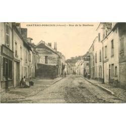 08 CHATEAU-PORCIEN. Boulangerie et Garage rue de la Morteau 1913