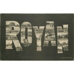 17 ROYAN. Carte fantaisie multivue 1905