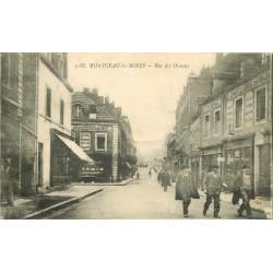 71 MONTCEAU-LES-MINES. Chapellerie rue des Oiseaux 1918