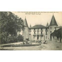01 LOMPNES. Animation au Jardin du Grand Hôtel du Château