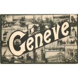 SUISSE. Genève 1915