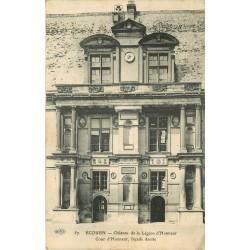 95 ECOUEN. Cour du Château de la Légion d'Honneur