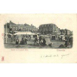 carte postale ancienne 14 TROUVILLE. Casino ou Grand Salon 1903
