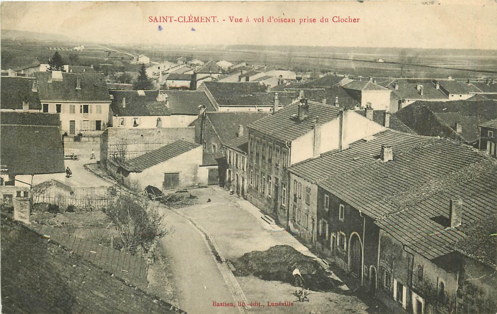 54 SAINT-CLEMENT. Vue prise du Clocher 1915