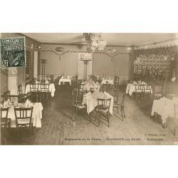 58 SAINT-HONORE-LES-BAINS. Restaurant Brasserie de la Poste 1931