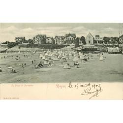 17 ROYAN. La Plage de Pontaillac 1904