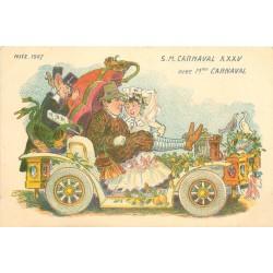 06 NICE. Madame Carnaval en 1907
