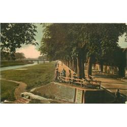 RASTATT. Murgdamm Promenade 1909