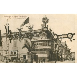 MALTE MALTA. Décoration de la Place Saint-Georges au Congrès Eugénie 1913