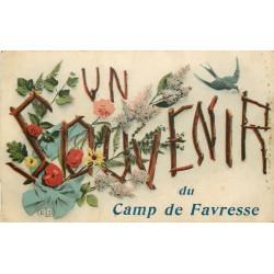 51 Un Souvenir du Camp de Favresse 1919