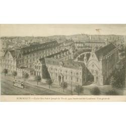 33 BORDEAUX. Ecole libre Saint-Joseph 370 Boulevard de Caudéran 1921