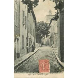 83 NANS. Rue de l'Eglise 1906