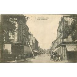 71 MONTCEAU-LES-MINES. Au Chat-Noir rue de la République 1918