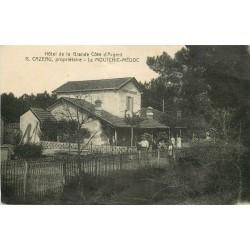 33 LE MOUTCHIC-MEDOC. Hôtel de la Grande Côte d'argent 1924