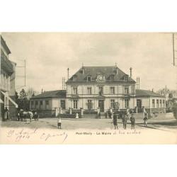78 PORT-MARLY. La Mairie et les Ecoles 1904