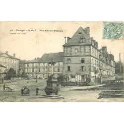 24 SARLAT. Gendarmerie Place de la Sous-Préfecture