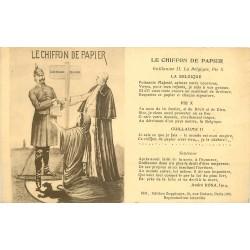 GUILLAUME II La Belgique l'Allemagne et Pie X. Le Chiffon de Papier