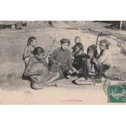 TONKIN. Concert ambulant au Viêt-Nam 1914