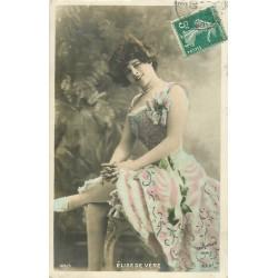 """Spectacle Théâtre vers 1909 la Comédienne par Reutlinger """" ELISE DE VERE """""""