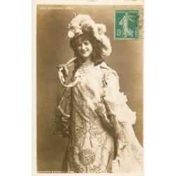 """Spectacle Théâtre vers 1909 la Comédienne par Hutchinson Miss """" GODWYNNE EARLE """""""