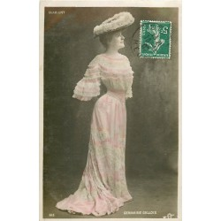 Spectacle Théâtre vers 1909 la Comédienne GERMAINE GALLOIS à Marigny
