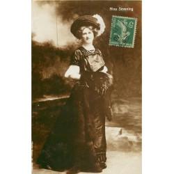 Spectacle Théâtre vers 1909 la Comédienne NINA SEVENING