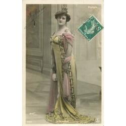 Spectale Théâtre. La comédienne NANON par Walery 1910 à l'Olympia