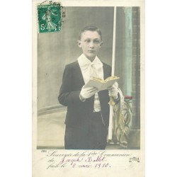 Christianisme LA COMMUNION de Joseph Ballet 1910