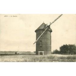 60 ARCY. Le Vieux Moulin animation à chaque fenêtre 1915