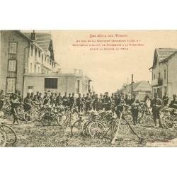 88 COL DE LA SCHLUCHT. Compagnie Cycliste de Chasseurs à la Frontière 1915