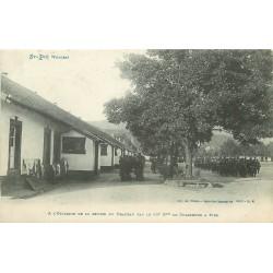 88 SAINT-DIE. A la Caserne remise du Drapeau par 10° Bataillon de Chasseurs à Pied 1915