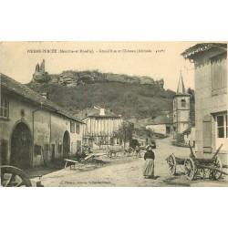 54 PIERRE-PERCEE. Grand'Rue et Château 1915