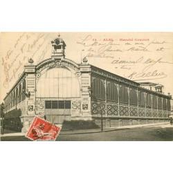 81 ALBI. Le Marché couvert 1911