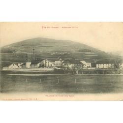 88 FRAIZE. Filature et Cités des Faulx 1914