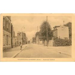 92 VILLENEUVE-LA-GARENNE. Boulevard Galliéni