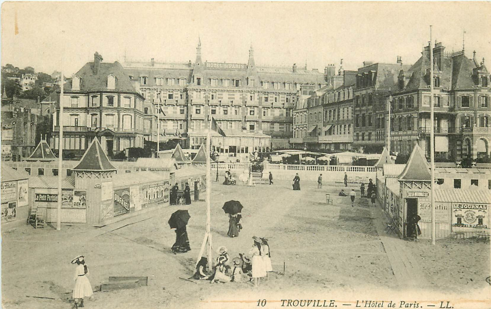 14 trouville h tel de paris for Hotel des bains paris 14