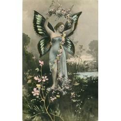 ART NOUVEAU. La Femme papillon