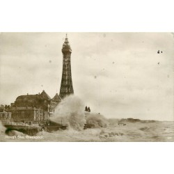 Royaume-Uni. Rough Sea Blackpool 1927