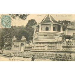 Ceylan Ceylon. KANDY Temple of the Holy Tooth 1905