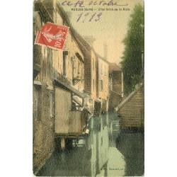 27 RUGLES. Personnage sur le Bras forcé de la Risle 1913