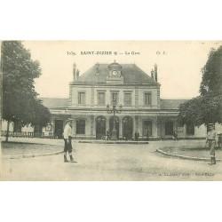 52 SAINT-DIZIER. La Gare 1916