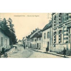 03 PIERREFITTE. Enfants Route de Digoin 1928