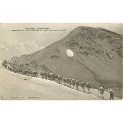 04 MOURRE-HAUT. Ascension par des soldats tampon du 3° Bataillon des Chasseurs Alpins 1914