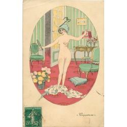 Illustrateur SAGER XAVIER. la Coquetterie de la Femme nue 1911