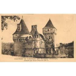 24 Château de l'Aussel par Marquay restauré par Henri Deglane